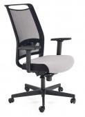 Krzesło biurowe Obrotowe Czarno Szare SNOW