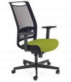 Krzesło biurowe do gabinetu Regulowane Zielone LIMMET