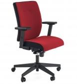 Krzesło biurowe Obrotowe Regulowane Czerwone ROZAR