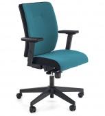 Krzesło biurowe do gabinetu Fotel obrotowy Niebieski TARS