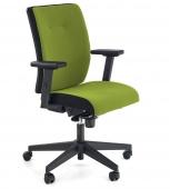 Fotel biurowy Obrotowy Regulowane krzesło do gabinetu Zielone FLIZ