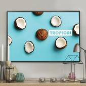 DecoKing - Plakat ścienny –Coconuts