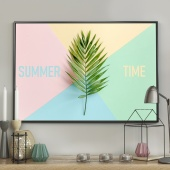 DecoKing - Plakat ścienny – Mellow Summer