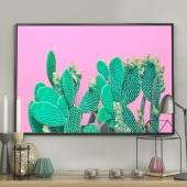 DecoKing - Plakat ścienny - Cactus