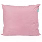 Poduszka z pierzem Bawełniana Różowa - ROSIE
