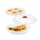 Miska na omlet, sadzone jajka PURITY MicroWave
