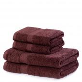 DecoKing - Ręcznik Bawełniany Brązowy MARINA GŁADKI