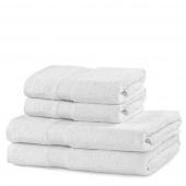 DecoKing - Ręcznik Bawełniany Biały MARINA GŁADKI