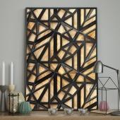 DecoKing - Plakat ścienny - Wood Craft