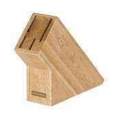 Drewniany blok na 4 noże WOODY
