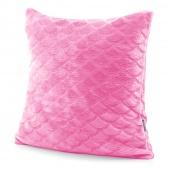 Poduszka syrenka Poszewka z wypełnieniem Różowa SIRENE