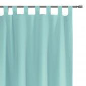 Zasłony dekoracyjne na szelkach Oxford Tie Back 140x250 cm Morskie ELEGANTE