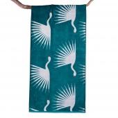 DecoKing – Ręcznik Plażowy Bawełniany Morski BIRDS