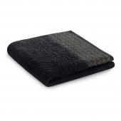 Ręcznik kąpielowy Bawełniany ze złotym zdobieniem Czarny MIDAL