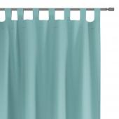 Zasłony dekoracyjne na szelkach Oxford Tie Back 140x250 cm Niebieskie ELEGANTE