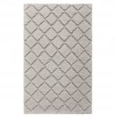 Sorema –Mata łazienkowa 50x80 cm Srebrna CRYSTAL
