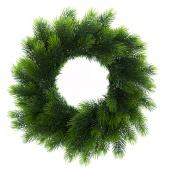 Stroik świąteczny na drzwi Wianek bożonarodzeniowy Świerk syberyjski LUX