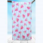 DecoKing - Ręcznik Plażowy Szybkoschnący WATERMELON W ARBUZY