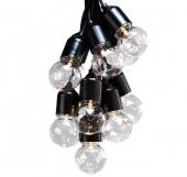 Lampki ogrodowe LED Kryształy Zewnętrzne - Zestaw rozszerzający