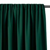 AmeliaHome - Zasłony zaciemniające na taśmie Zielone BLACKOUT