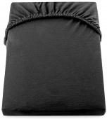 DecoKing – Prześcieradło Jersey Czarne AMBER