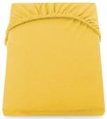 DecoKing – Prześcieradło Jersey Żółte AMBER
