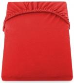 DecoKing – Prześcieradło Jersey Czerwone AMBER