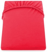 DecoKing – Prześcieradło Jersey Czerwone NEPHRITE