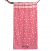 DecoKing – Ręcznik Plażowy Bawełniany Różowy HOLIDAY