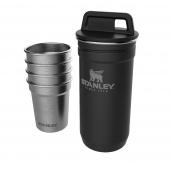 Stanley - Kieliszki stalowe w etui Czarny 4 x 60 ml ADVENTURE