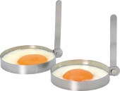 Kitchen Craft - Obręcze stalowe do smażenia jajek 2 SZT.
