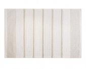 Dywanik łazienkowy kuchenny Mata bawełniana Biała w paski 50x80 cm TAPIS