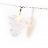 Lampki świąteczne klipsy LED choinki ozdoba na baterie