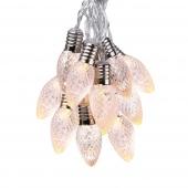 Dekoracyjne lampki LED Kryształy Ozdoba Wisząca RUFFI