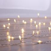 DecoKing - Kurtyna świetlna LED Iskierki Zestaw rozszerzający