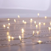 DecoKing – Kurtyna świetlna LED – Kometa, 1x2m + 5m