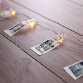 DecoKing- Dekoracyjne klipsy LED na zdjęcia
