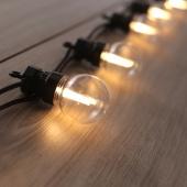 DecoKing - Lampki ogrodowe LED - Bańka - Zestaw rozszerzający