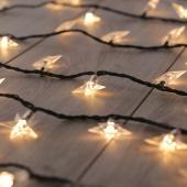 Lampki świetlne LED - Gwiazdki - Zestaw rozszerzający