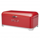 Kitchen Craft - Pojemnik na pieczywo Czerwony LOVELLO