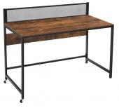 Rustykalne biurko komputerowe do biura gabinetu MILES