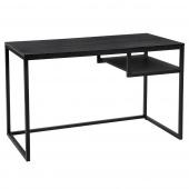 Minimalistyczne biurko młodzieżowe Nowoczesne Czarne PAL