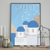 DecoKing - Plakat ścienny - Greece