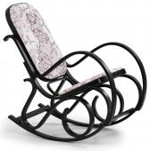 Fotel bujany Klasyczny Drewniany Retro Orzech KLASIK