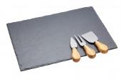 Kitchen Craft - Deska do serów ze sztućcami ARTESA