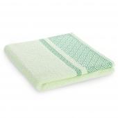 Ręcznik kąpielowy Bawełniany z bordiurą Pistacjowy DESSIN
