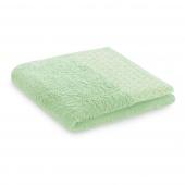 Ręcznik kąpielowy Bawełniany ze złotym zdobieniem Pistacjowy MIDAL
