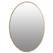 Lustro ścienne Złote Glamour Wiszące Minimalistyczne Ozdobne EBELE