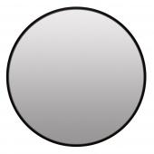 Lustro ścienne Czarne Wiszące Minimalistyczne Ozdobne TELA