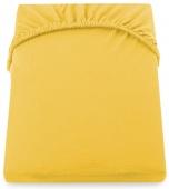 DecoKing – Prześcieradło Jersey Żółte NEPHRITE